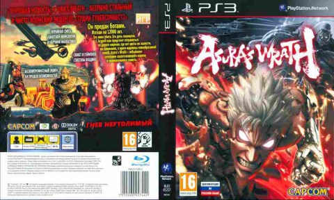 Игра Asuras Wrath, Sony PS3, 170-549 Баград рф