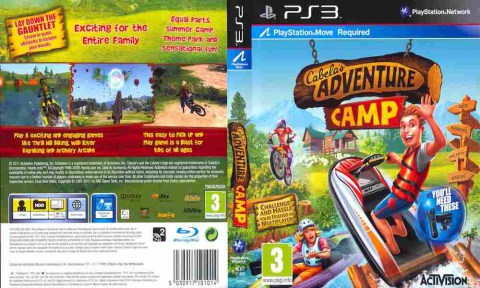 Игра Cabela's Adventure Camp, Sony PS3, 170-598 Баград рф