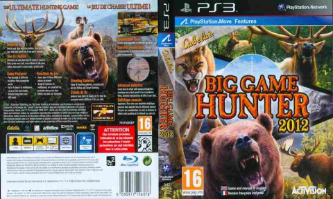 Игра Cabela's Big Game Hunter 2012, Sony PS3, 170-466 Баград рф
