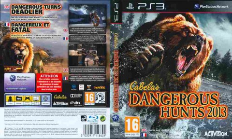 Игра Cabela's Dangerous Hunts 2013, Sony PS3, 170-461 Баград рф