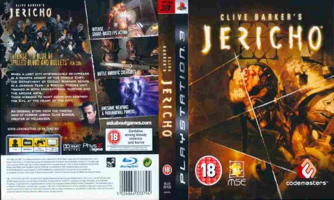 Игра Clive Barker's Jericho, Sony PS3, 171-375 Баград рф