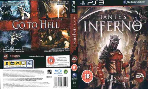 Игра Dante's Inferno, Sony PS3, 171-89 Баград рф