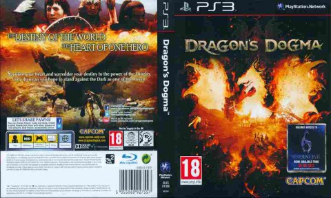 Игра Dragon's Dogma, Sony PS3, 170-432 Баград рф