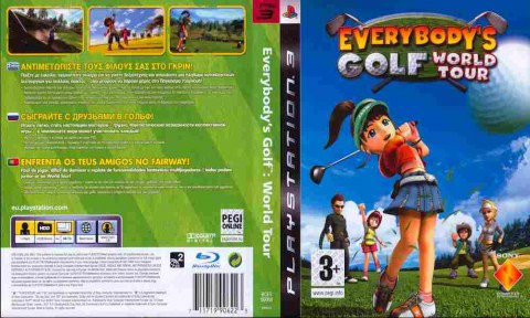 Игра Everybody's Golf World Tour, Sony PS3, 170-297 Баград рф