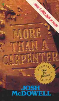 Книга McDowell J. More Than a Carpenter, 35-30, Баград.рф