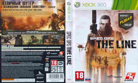 Игра SPEC OPS THE LINE, Sony PS3, 172-95, Баград.рф