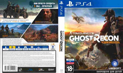 Игра Tom Clancy's Ghost Recon Widlands, Sony PS4, 174-70, Баград.рф