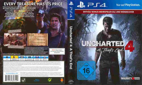 Игра Uncharted 4 A thief's end, Sony PS4, 174-85, Баград.рф
