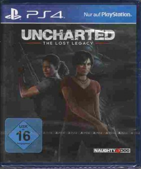 Игра Uncharted The lost legacy (новая), Sony PS4, 174-86, Баград.рф
