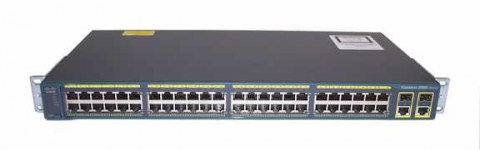 Cisco Catalyst 2960 Plus 48 10_100 + 2 T_SFP LAN Base, у-4, Баград.рф