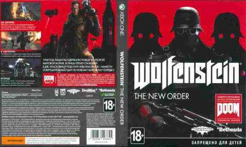 Игра Wolfenstein The New Order, Xbox one, 175-77, Баград.рф