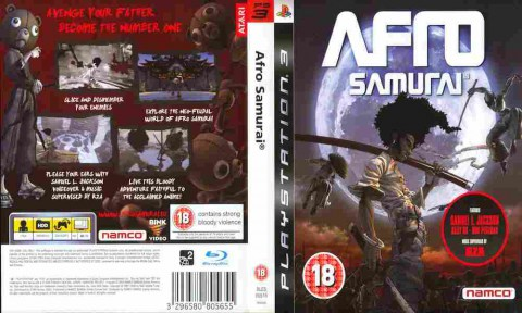 Игра Afro samurai, Sony PS3, 170-604 Баград рф.jpg