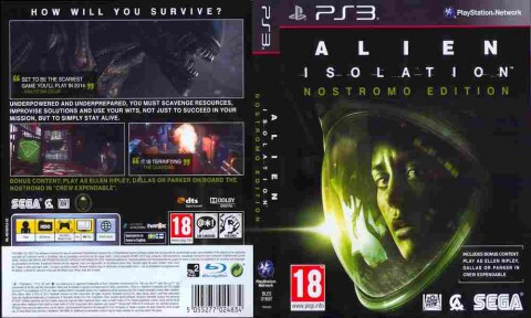 Игра Alien Isolation, Sony PS3, 171-93 Баград рф