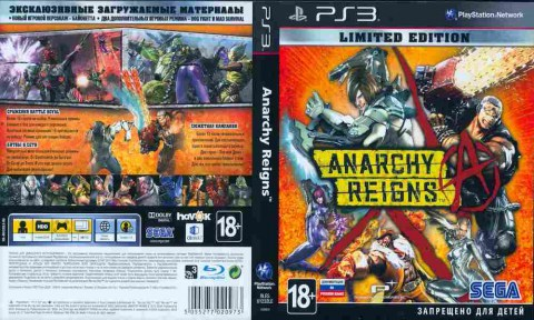 Игра Anarchy Reigns, Sony PS3, 170-457 Баград рф