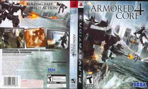 Игра Armored Core 4, Sony PS3, 170-5 Баград рф
