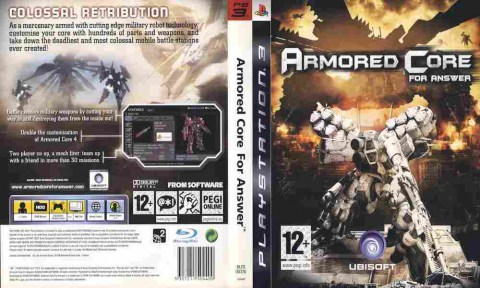 Игра Armored Core For Answer, Sony PS3, 170-547 Баград рф
