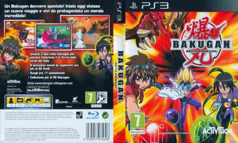 Игра Bakugan Battle Brawlers, Sony PS3, 170-15 Баград рф