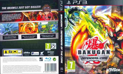 Игра Bakugan Defenders of the Core, Sony PS3, 170-688 Баград рф