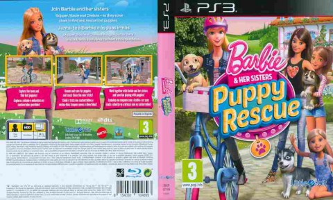 Игра Barbie & Her Sisters Puppy Rescue, Sony PS3, 170-621 Баград рф