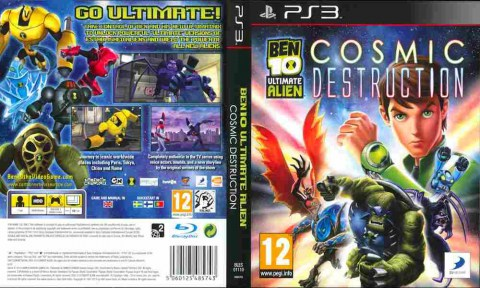 Игра Ben 10 Ultimate Alien Cosmic Destruction, Sony PS3, 170-531 Баград рф