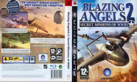 Игра Blazing Angels 2 Secret Missions of WW II, Sony PS3, 170-24 Баград рф