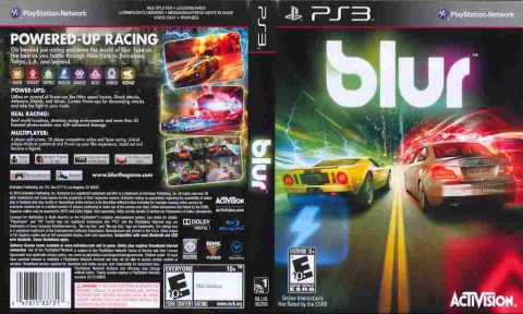 Игра Blur, Sony PS3, 170-393 Баград рф
