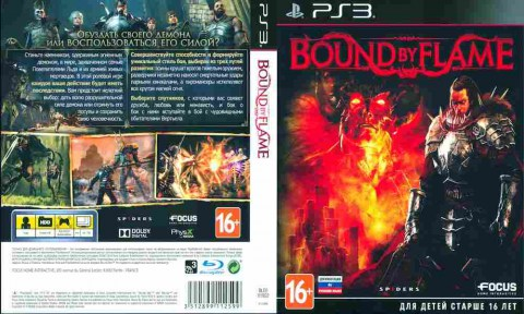Игра Bound by Flame, Sony PS3, 170-536 Баград рф