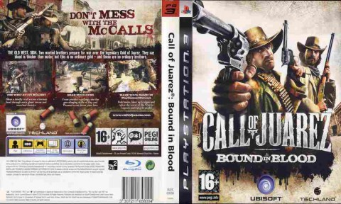 Игра Call of Juarez Bound in Blood, Sony PS3, 171-35 Баград рф