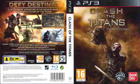 Игра Clash of the Titans, Sony PS3, 170-585 Баград рф