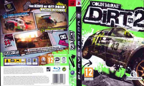 Игра Colin McRae Dirt 2, Sony PS3, 171-367 Баград рф