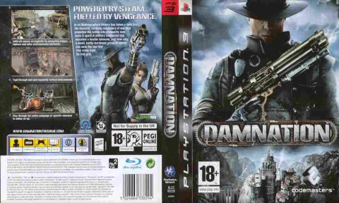 Игра Damnation, Sony PS3, 170-344 Баград рф
