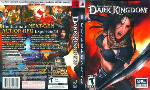 Игра Dark Kingdom Untold Legends, Sony PS3, 170-629 Баград рф