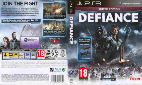 Игра Defiance, Sony PS3, 170-572 Баград рф