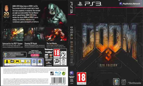 Игра DOOM 3 BFG Edition, Sony PS3, 170-552 Баград рф