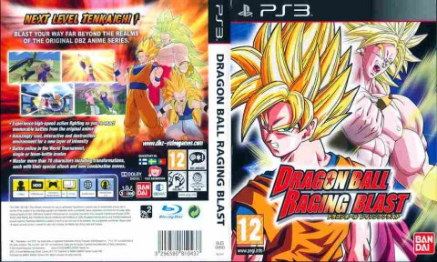 Игра Dragon Ball Raging Blast, Sony PS3, 170-599 Баград рф