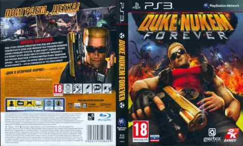Игра Duke Nukem Forever, Sony PS3, 170-236 Баград рф