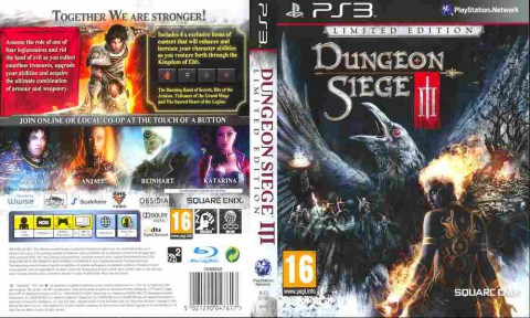 Игра Dungeon Siege 3, Sony PS3, 170-597 Баград рф