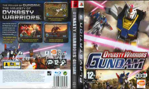 Игра Dynasty Warriors Gundam, Sony PS3, 170-55 Баград рф