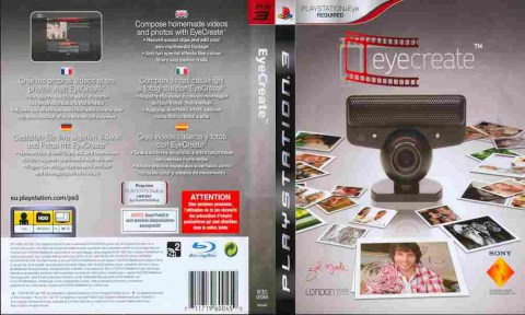 EyeCreate, Sony PS3, 170-484 Баград рф