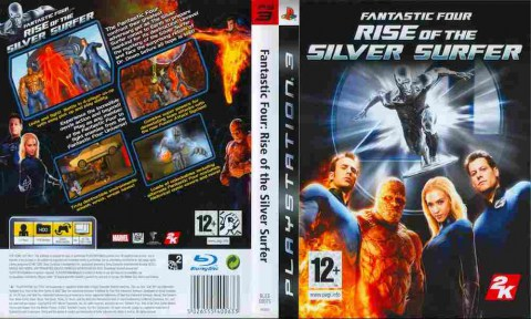 Игра Fantastic Four Rise of the Silver Surfer, Sony PS3, 170-62 Баград рф