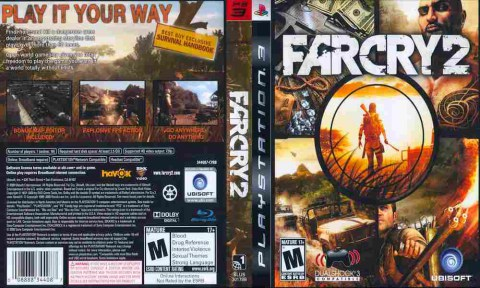 Игра Far Cry 2, Sony PS3, 170-559 Баград рф