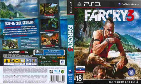 Игра Far Cry 3, Sony PS3, 171-324 Баград рф