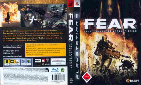 Игра FEAR, Sony PS3, 171-379 Баград рф