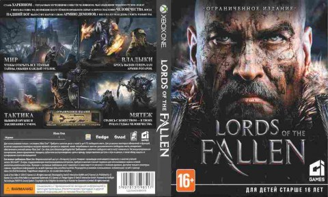 Игра Lords of the Fallen, Xbox one, 175-4, Баград.рф
