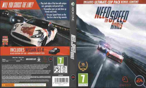 Игра Need For Speed Rivals, Xbox one, 175-6, Баград.рф