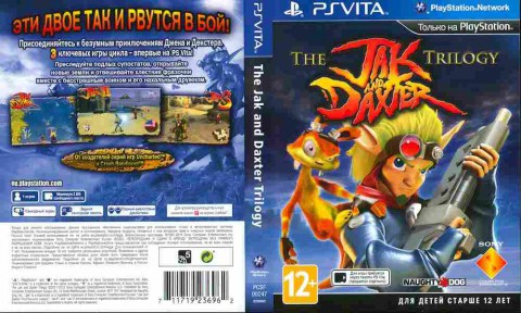 Игра The Jak and Daxter trilogy, Sony PSVita, 181-20, Баград.рф